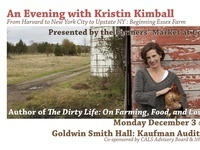 "Evening with Kristin Kimball, Author of ""The Dirty Life On Farming, Food and Love"""
