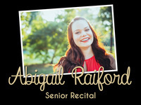 Abigail Raiford's Senior Recital