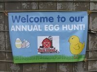 5th Annual Egg Hunt at the Farm