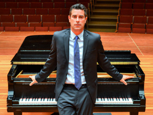 Pianist Rob Auler performance and workshop in Trumansburg