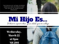 Mi Hijo Es...What To Expect When Your Child Goes To College