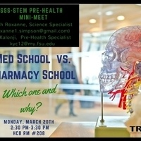 SSS-STEM: Med School vs. Pharmacy School- Which one and why?