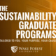Sustainability Graduate Program Online Information Session