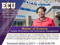 MS in Health Informatics and Information Management Open House Session