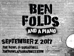 Ben Folds And A Piano Concert