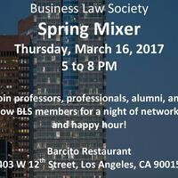 Business Law Society Spring Mixer!!!