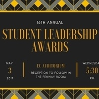 16th Annual Student Leadership Awards