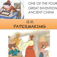 One of the Four Great Inventions of Ancient China: Papermaking