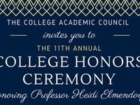 11th Annual College Honors Ceremony