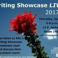 Writing Showcase Live!