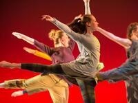 Dancers In Company performance at Maquoketa Art Experience