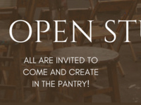 Open Studio in The Pantry