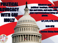Political Advocacy with GRF Molly