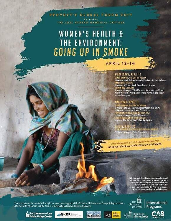 Image for 2017 Provost's Global Forum: Women's Health & Environment