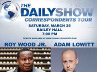 CUPB presents: The Daily Correspondents Tour featuring Roy Wood Jr. and Adam Lowitt