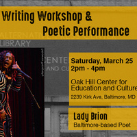 Writing Workshop and Poetry Reading