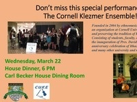 The Cornell Klezmer Ensemble