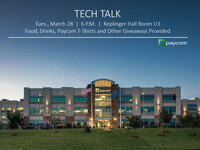 Paycom Tech Talk