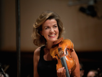 Anne-Sophie Mutter, violin and Lambert Orkis, piano
