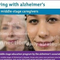 Living with Alzheimer's for Caregivers Middle Stage Part 3 of 3
