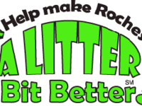 Help Make Rochester A Litter Bit Better campaign