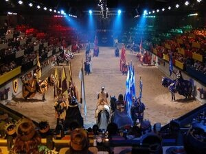 Spring Break at Medieval Times