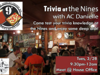Trivia at the Nines with AC Danielle