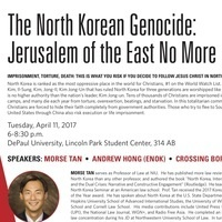 The North Korean Genocide: Jerusalemm of the East No More