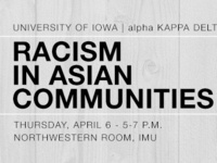 Racism in Asian Communities: A Workshop