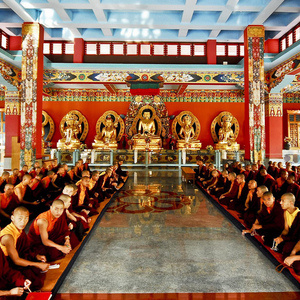 The Tibetan Buddhist Monastery