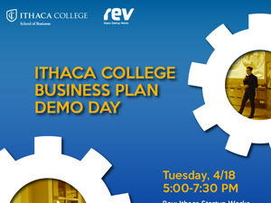 Ithaca College Startup Business Plan Demo Day