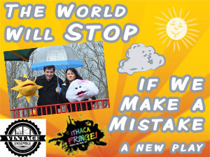 The World Will Stop if We Make a Mistake