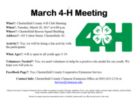 March 4-H Meeting