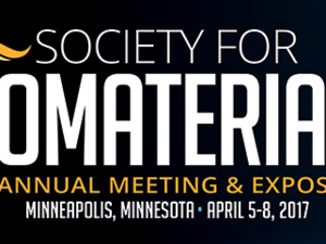 Society For Biomaterials Annual Meeting: Recent Advances in 3D Printing of Biomaterials