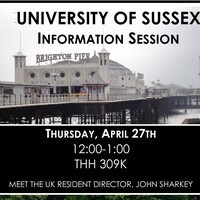 University of Sussex Information Session