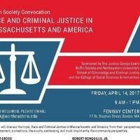Race and Criminal Justice in Massachusetts and America