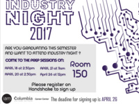Industry Night 2017 Prep Sessions