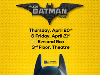 JCSU Movie Series: The Lego Batman Movie