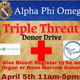 Triple Threat Donor Drive