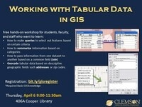 Working with Tabular Data in GIS