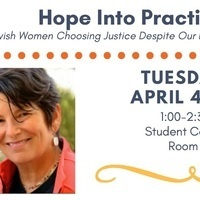 Penny Rosenwasser, Hope Into Practice: Jewish Women Choosing Justice Despite Our Fears