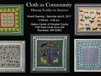 Cloth as Community: Hmong Textiles in America Grand Opening