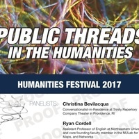 Humanities Festival 2017: Public Threads in the Humanities