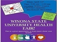 Winona State University Health Fair
