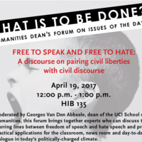 Free to Speak and Free to Hate: A Discourse on Pairing Civil Liberties with Civil Discourse