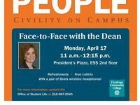 We The People: Face-to-Face with the Dean