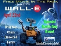 Free Wall-E Earth Day/Movies in the Park Event