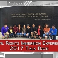 Canceled - 2017 Civil Rights Immersion Experience Talk Back
