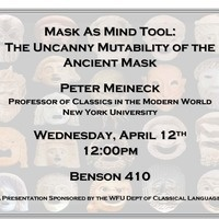 Mask as Mind Tool: The Uncanny Mutability of the Ancient Mask