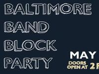 WTMD's Baltimore Band Block Party